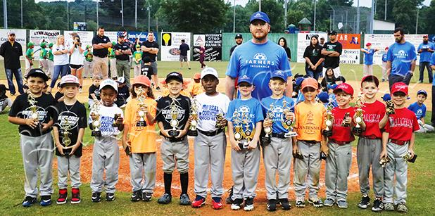 The 6U all-star team was selected in early June.