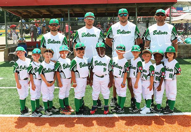 The 6U Squad was coached by Phillip Roberts, Manager Justin Howell, Tim Malone, and Eric McIntyre.