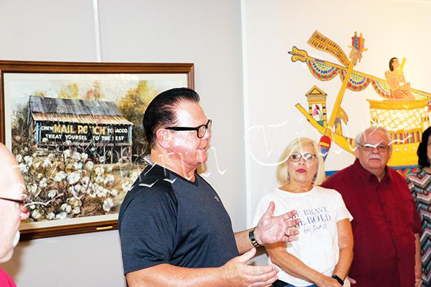 Hall of Fame Wrestler Jerry Lawler spoke of the influence of Stahl on his life. Stahl, who taught Lawler at Tredwell High School in Memphis, sent his portfolio to Memphis State in the late 1960's, helping him earn a scholarship that both kept him out of the draft and helped launch his wrestling career with the contacts he made as an artist.