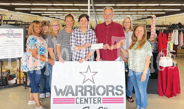 Warrior Center Receives Donation