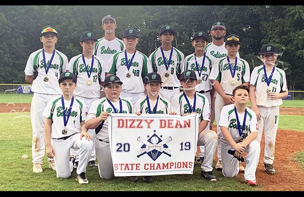 12U Bolivar All-Stars. Photo by Amy Morris.
