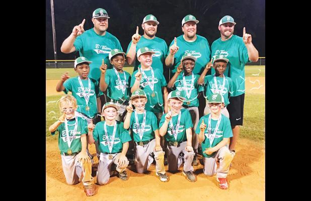 Bolivar 8U team