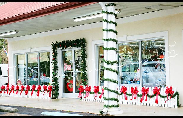 A Haven of Flowers was judged the winner of the Bolivar Main Street Christmas storefront decorating contest held the week of November 26-30.
