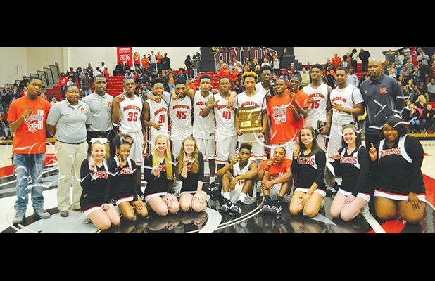 Middleton won the Region title on March 2 over Humboldt at Union University.