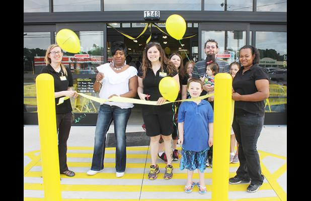 The Dollar General Store on Market Street held its Grand Opening on Saturday, May 30, and greeted customers with gift card giveaways. The new store provides customers with a wide array of selections from magazines, clothing, household goods, snacks and more.