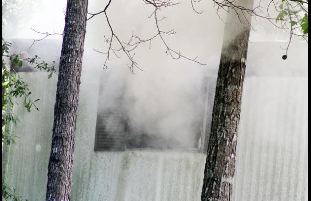 Fire officials said they have not determined a cause of the fire at 165 Knepp Road as of this time. However, it is believed it started in the back bedroom on the bed. The cause of the fire is believed to have been of an electrical origin from a cell phone charger.