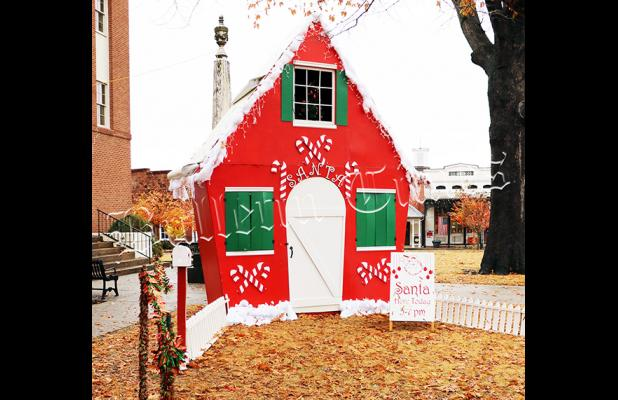 Santa's house, which has been on the Hardeman County Courthouse Square for years, will move to Santa's Village on Jackson Street in Bolivar in the newly-created Santa's Village. See the back page for more details.
