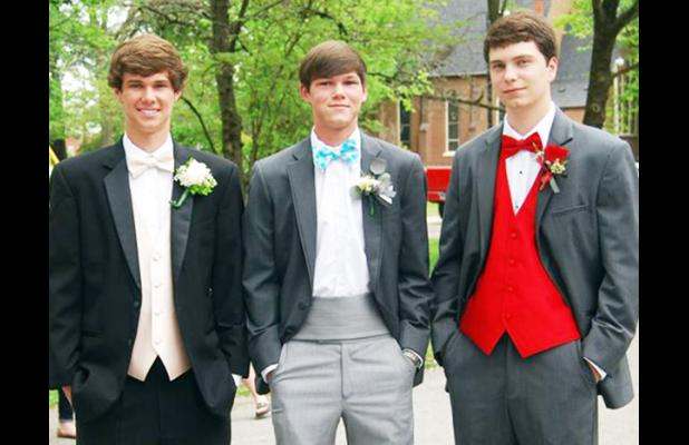 Jake Wilson, Braxdon Frost and Luke Ormerod