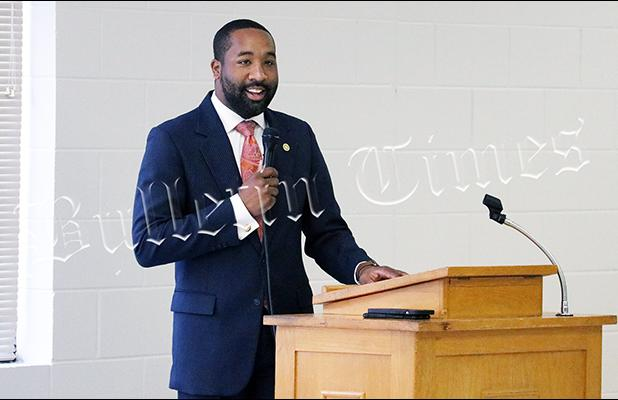 The City of Bolivar passed their 2021-2022 budget on the first reading June 14, promising raises for employees but did not propose a tax increase. See A7 for details.  Photo: Bolivar Mayor Julian McTizic hosted a prayer breakfast on June 16.