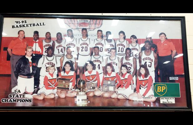 Middleton High School will host and honor the 1992 Middleton High School Boys State Championship team (see photo above) during their contest against Trinity Christian on Friday, January 20.
