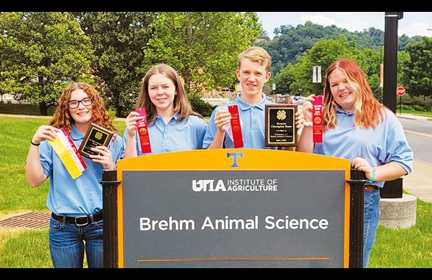 Hardeman County 4-H Members Compete