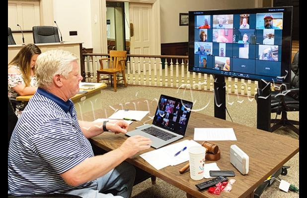 The June 2 meeting is scheduled to be held in a virtual format, as it was on April 21.