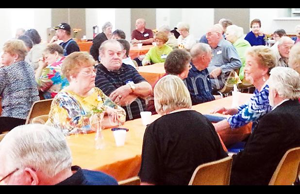 Middleton High School held its 44th annual reunion on Saturday. April 2, at the city's Community Center. Six decades of alumni were represented among the 70 graduates attending the event. Photo by Bill Stone
