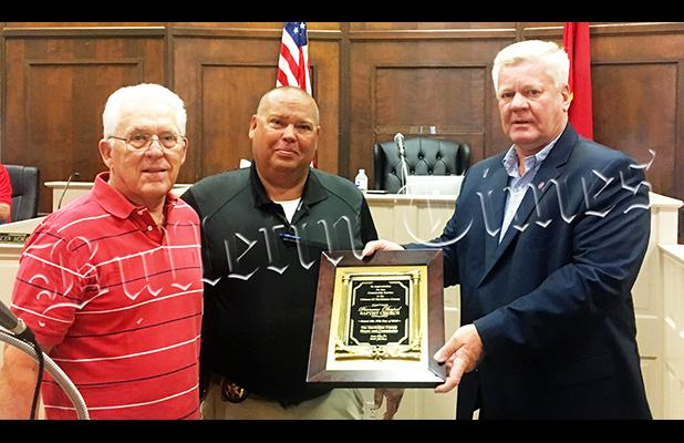Parrans Chapel Church Honored