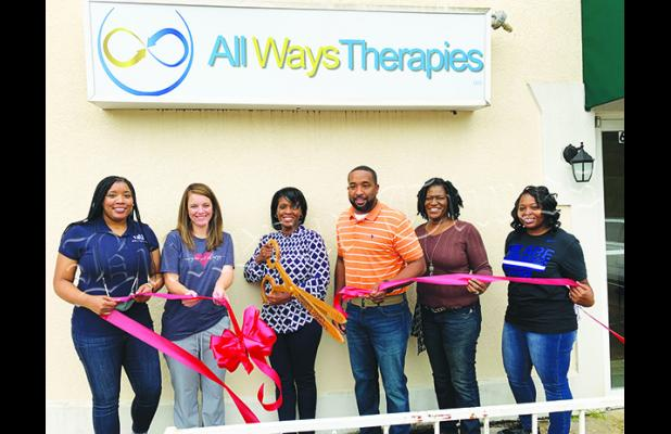 All Ways Therapies, located at 602 Tennessee Street in Bolivar, had a ribbon cutting courtesy of the Hardeman County Chamber of Commerce on September 25. All Ways Therapies is an occupational and speech therapy clinic. For more information call 731-518-9022.