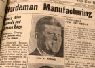 """Voters Give Kennedy and Johnson Edge"" headline allowed the Bolivar Bulletin-Times to record the historical victory of John F. Kennedy over Richard Nixon to become President of the United States."