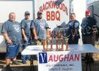 Left to right: Danny King, Brian Vandiver, Chris Allen,  Courtney Dennis, and Mike Kennamore took home the Hardeman County championship and finished second among all teams.