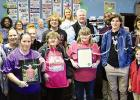 """Hardeman County Mayor Jimmy Sain and Bolivar Mayor Julian McTizic joined together to proclaim """"Organ Donation Month"""" in both Bolivar and Hardeman County. The proclamation was read at the Hardeman County Clerk's office that was decorated in blue and green commemorating organ donation."""