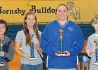 Hornsby Elementary School (front page): 1st – Jace Allen, 2nd – Shelby Smith, 3rd – Sydni Aylor, and 4th – Nick Baird.