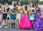 Middleton Middle School announced the 2014 Homecoming Royalty and Court at a pregame ceremony held prior to Tuesday night's game in Middleton. Pictured (L-R): Tara Wilbanks, Sydney Wyatt, Mia Langley-Princess, Allyson Sisco-Football Sweetheart, Aaliyh McKinnie and Kaylan Parks.