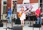 From left to right: Mike Smalley, Bobby Sain, Kandy Shackelford, Jeff Shackelford, and Jill Shackelford. Photo by Ginger Tester.