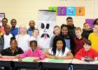 Photo: Cross and Pruitt's 5th grade classes
