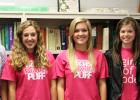 The Bolivar Central High School Book Club officers pictured (l-r): Historian Kaleb McKinnie, Vice-President Hannah Owens, President Carly Weems, Secretary Jessica Gibson and Sergeant-at-Arms Dallis Williams.
