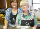"""Cheryl Smith (left) and Lynn Vaught (right) are known in Grand Junction as the """"Soup Ladies""""."""