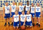 Hornsby began play on  October 22, dropping a pair of games to Savannah Christian. Front row left to right: Hannah King, Regan Adkins, Allyson Watkins. Back row left to right: Leah Smith, Easton O'Neil, Allyson Wilson, Neveah Bunch, Meredith Ross, and Meredith Whitfield.