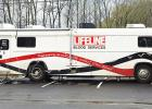With blood supplies nearing critically low levels and Lifeline Blood Services blood donations facing numerous cancellations around West Tennessee due to COVID-19, Centennial Bank in Middleton hosted an event on March 24. Photo courtesy of Debbie Moore.