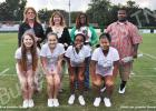 Pictured on the front row (l-r): Amanda Kennedy, Emma Cody, Jamaya Burkley and Kiera McNeal. On the back row (l-r): Brenda Kennedy, Dawn Cody, Tosha Reaves and Fred McNeal.