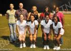 Pictured on the front row (l-r): Mia Dellinger, Kemya Allen, ShanToya Spinks and Ciara Wooden. Pictured on the back row (l-r): Wendy Dellinger, Mark Dellinger, Pavielle Allen, Cassandra Giles and Jackie Wooden.