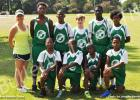 Pictured is the boys' team, front row (l-r): Toris Woods, Anthony Morrow, Kadarius Cheairs and Jaquan Lax. Back row (l-r): Coach Allison Wright, Nicholas Prather, DJ Smith, Clayton Moorehead, Vantez Sain and Trey Ellison.