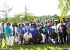 Allen-White High School graduates closed out their bi-annual three-day reunion with a picnic at Whiteville Park.